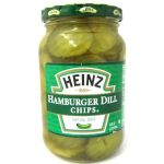 American Heinz Hamburger Dill Chips - 473ml, 16 floz Jar